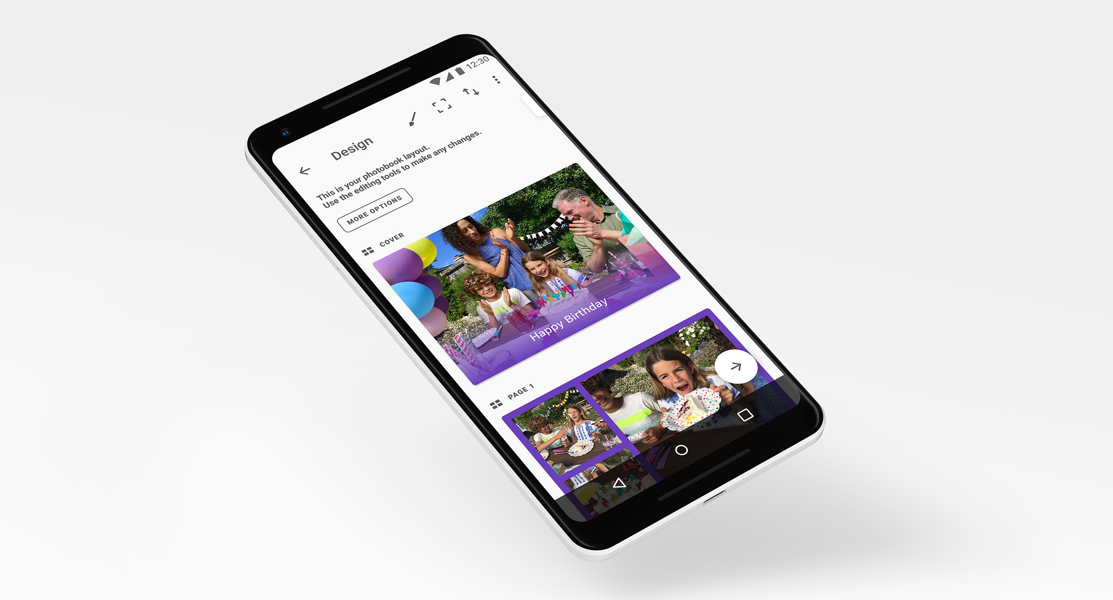Android Development at Popsa